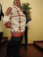 Жерар Депадье в мордовской рубашке