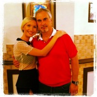 Иванна Мелай и Валерий Меладзе