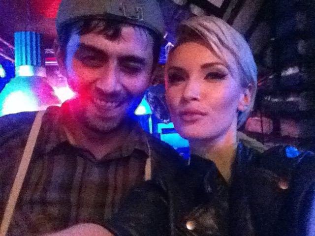 Иванна Мелай и Михаил Саакашвили