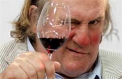 Депардье вино