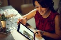 Тина Канделаки и iPad