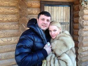 Анастасия Волочкова с любимым
