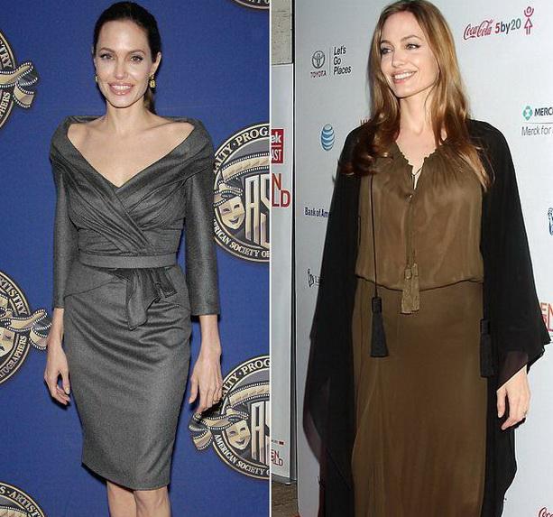 Анджелина Джоли фото 2013 после операции
