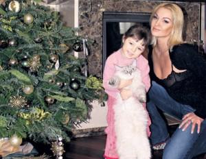 Анастасия Волочкова фото с дочерью
