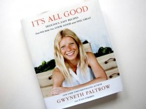 Книга рецептов от Гвинет Пэлтроу
