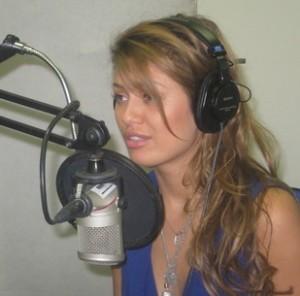 Виктория Боня будет вести цикл передач на радиостанции МонакоВиктория Боня
