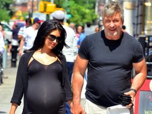 Алек Болдуин с женой фото 2013