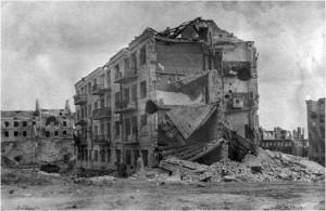 Дом Павлова в Сталинграде фото 1943