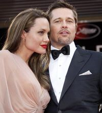 Брэд и Анджелина Джоли -фото 2014