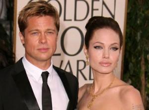 Брэд Питт и  Анджелина Джоли - фото 2014