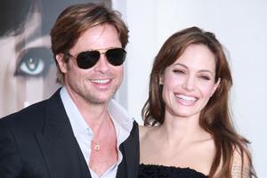 Брэд Питт и Анджелина Джоли фото 2015