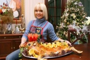 Валерия на обновленной кухне