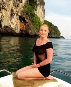 Анастасия Волочкова в Тайланде