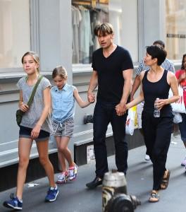Николай Костер-Вальдау с семьей
