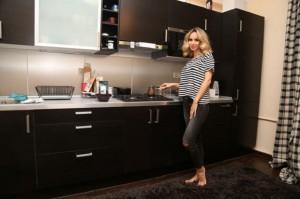 Светлана Лобода в квартире в Москве