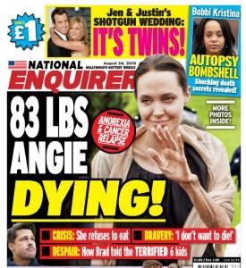 Анджелина Джоли пугает своим болезненным видом