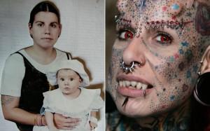 Мария Хосе Кристерна до и после