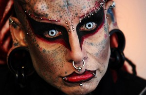женщина-вампир