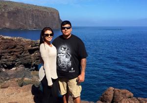 """""""Мисс Вселенная-2015"""" с супругом"""
