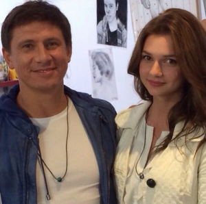Тимур Батрудинов и Дарья Канануха