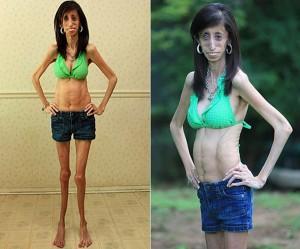 За всю жизнь, её вес не превысил 29 кг