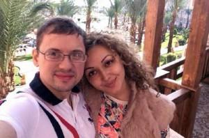 Андрей Гайдулян с невестой Дианой. Фото 2015