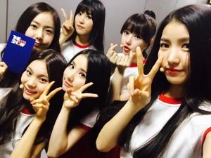 """Корейская группа """"GFriend"""". Фото 2015"""