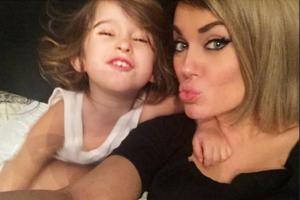 Татьяна Терёшина с дочкой Арис. Фото 2015 Инстаграм