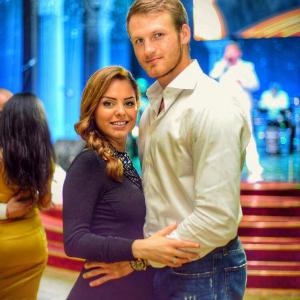 Иван Телегин с женой