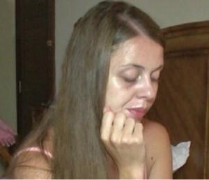 Ольга Рапунцель без макияжа. Фото.