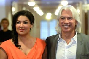 Дмитрий Хворостовский и Анна Нетребко. Фото