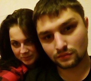 Виолетта Полякова с мужем. Фото 2016