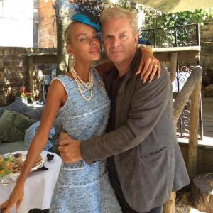 Кристина Сысоева с мужем. Фото