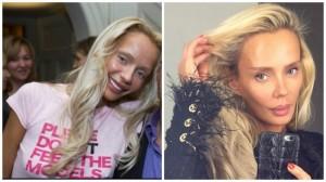 Кристина Сысоева до пластики и после. Фото
