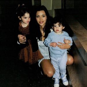 Ким Кардашьян, фото до пластики