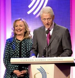 Хиллари и Билл Клинтон. Фото