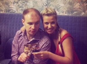 Мария Кохно с мужем. Фото
