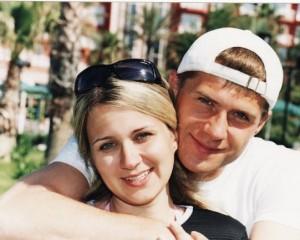Игорь Аксенов с супругой. Фото