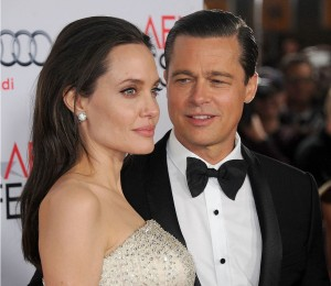Брэд Питт и Анджелина Джоли. Фото