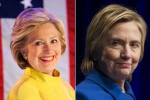 Хиллари Клинтон без макияжа. Фото