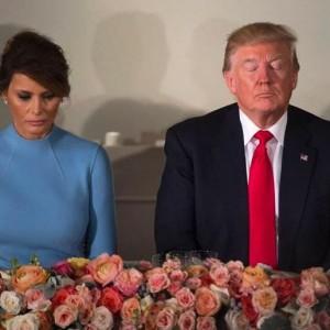 Мелания и Дональд Трамп. Фото