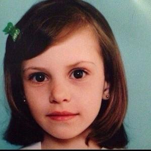 Александра Артемова в детстве. Фото