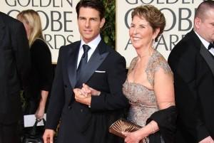 Том Круз и его мама. Фото