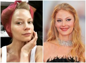 Светлана Ходченкова без макияжа. Фото