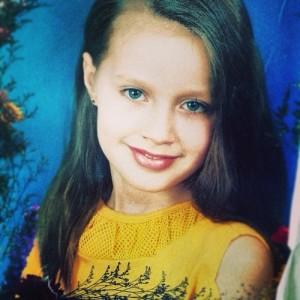 Анастасия Костенко в детстве. Фото