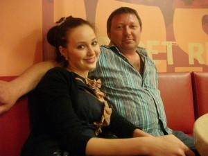 Анастасия Костенко с отцом. Фото