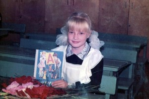 Евгения Феофилактова в детстве. Фото
