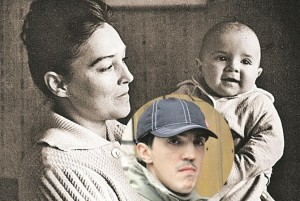 Александра Завьялова с сыном. Фото