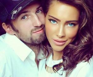 Вероника Кравчук с мужем. Фото
