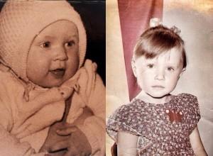 Элина Камирен в детстве. Фото